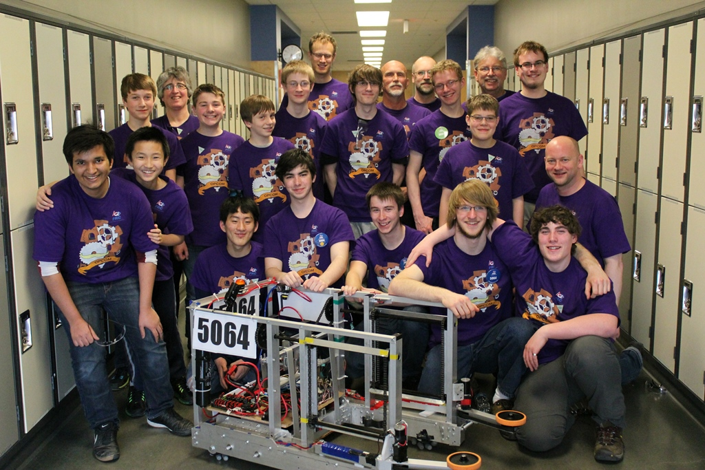 Team 5064 at Ernest Manning High School 2015 Western Canada Regional